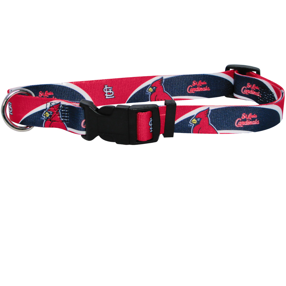 St Louis Cardinals Dog Collars & Leashes