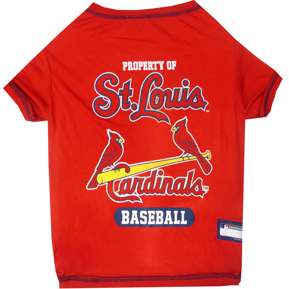 St. Louis Cardinals Dog Tee Shirts