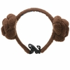 Star Wars Princess Leia Buns Dog Headpiece - Small/Medium