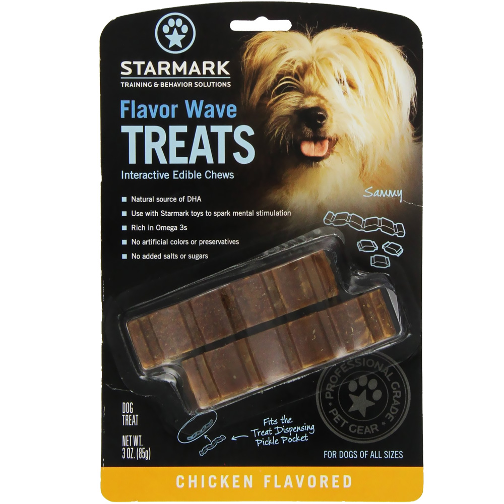 Starmark Flavor Wave Treats - Chicken