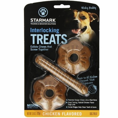 Starmark Interlocking Treats Chicken - Medium
