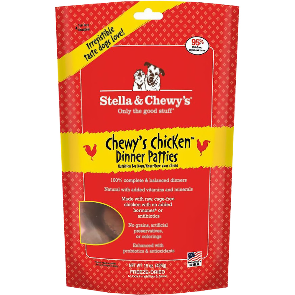 Stella & Chewy's Freeze-Dried Raw Chicken Dinner for Dogs (15 oz)