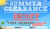 Annual Summer Clearance Blowout!