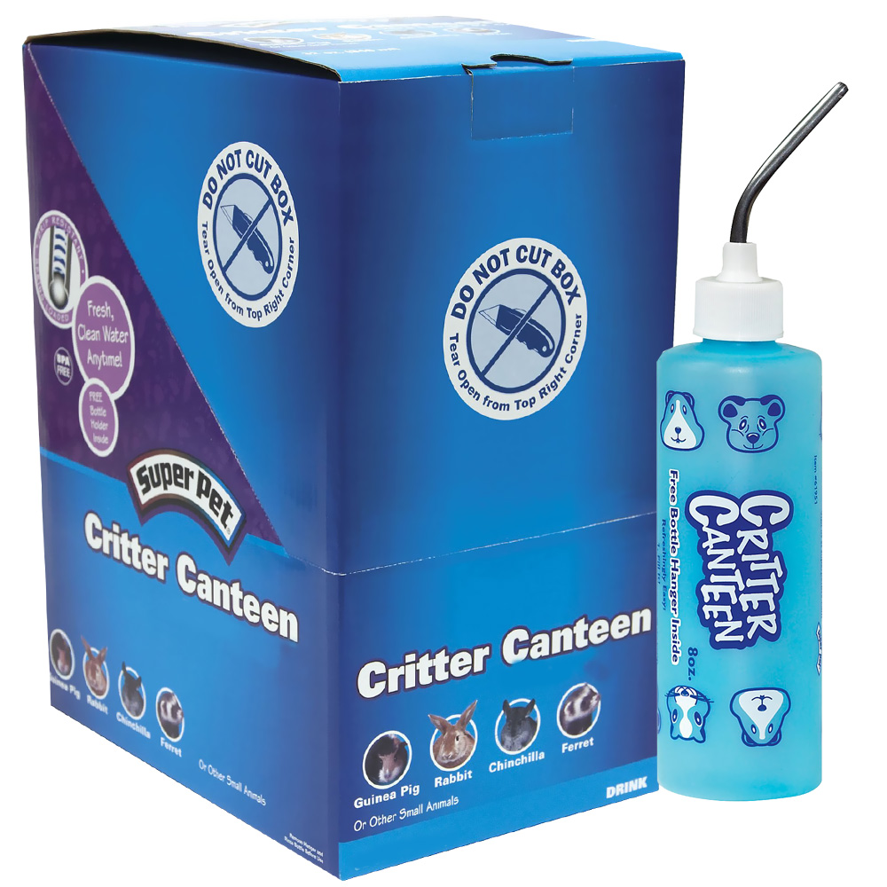 SuperPet 12-PACK Critter Canteen Bottle (8 oz)
