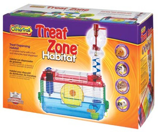 SuperPet CritterTrail Treat Zone Habitat