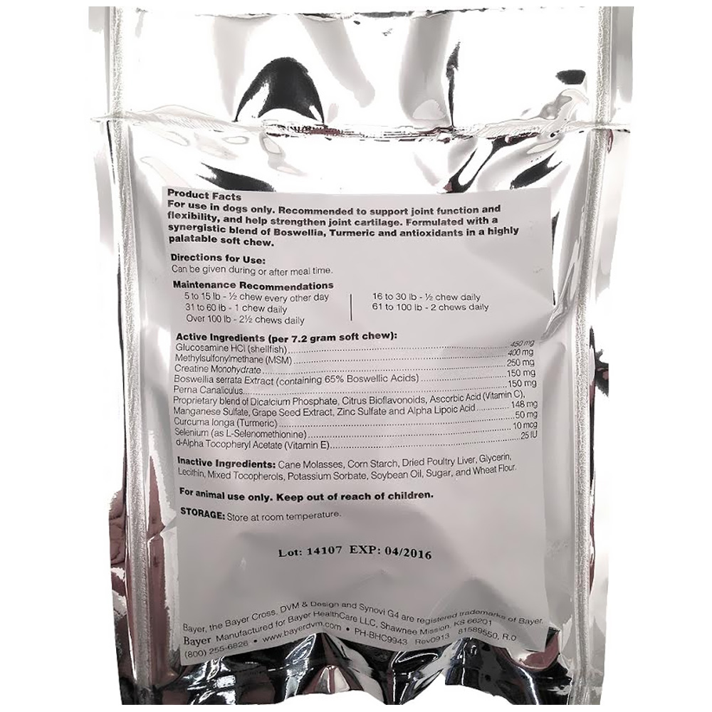 Synovi G4 Soft Chews for Dogs FREE SAMPLE