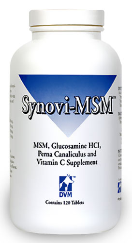 Synovi MSM Chewable Tablets (120 Tablets)