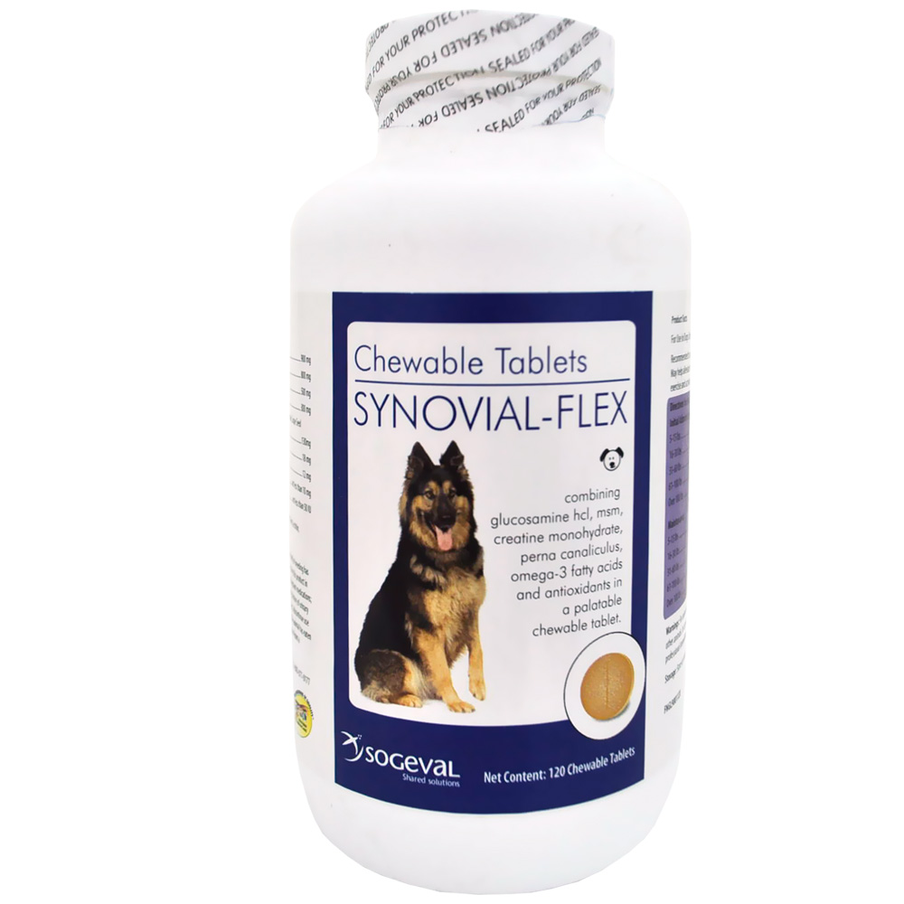 Synovial-Flex Chewable Tablets (120 Count)