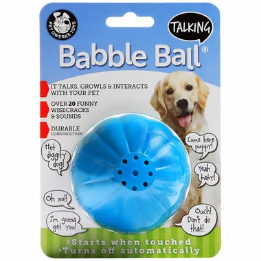 Talking Babble Ball - LARGE 3 1/8
