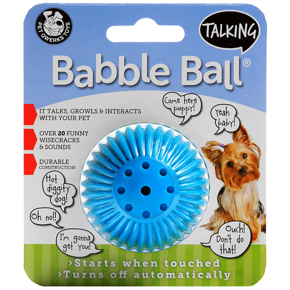 Talking Babble Ball - SMALL 2 1/8