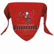 Tampa Bay Buccaneers Dog Bandana - Large