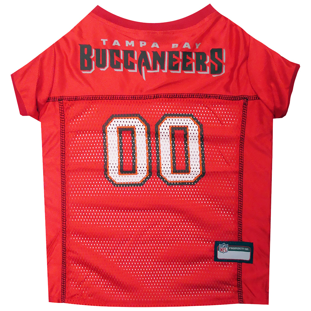 Tampa Bay Buccaneers Dog Jersey - Small