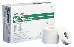 "Tape CURITY Standard Porous - White (1""x10 yards)"