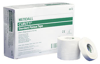 "Tape CURITY Standard Porous - White (2""x10 yards)"