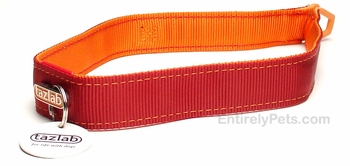 "Tazlab Safe-T-Stretch Collar 15"" (Red Rocks Red)"
