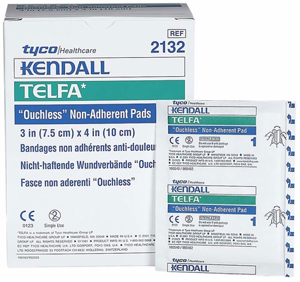 "TELFA Pads Non-Adherent Dressing Sterile (3""x4"") - 100 pack"