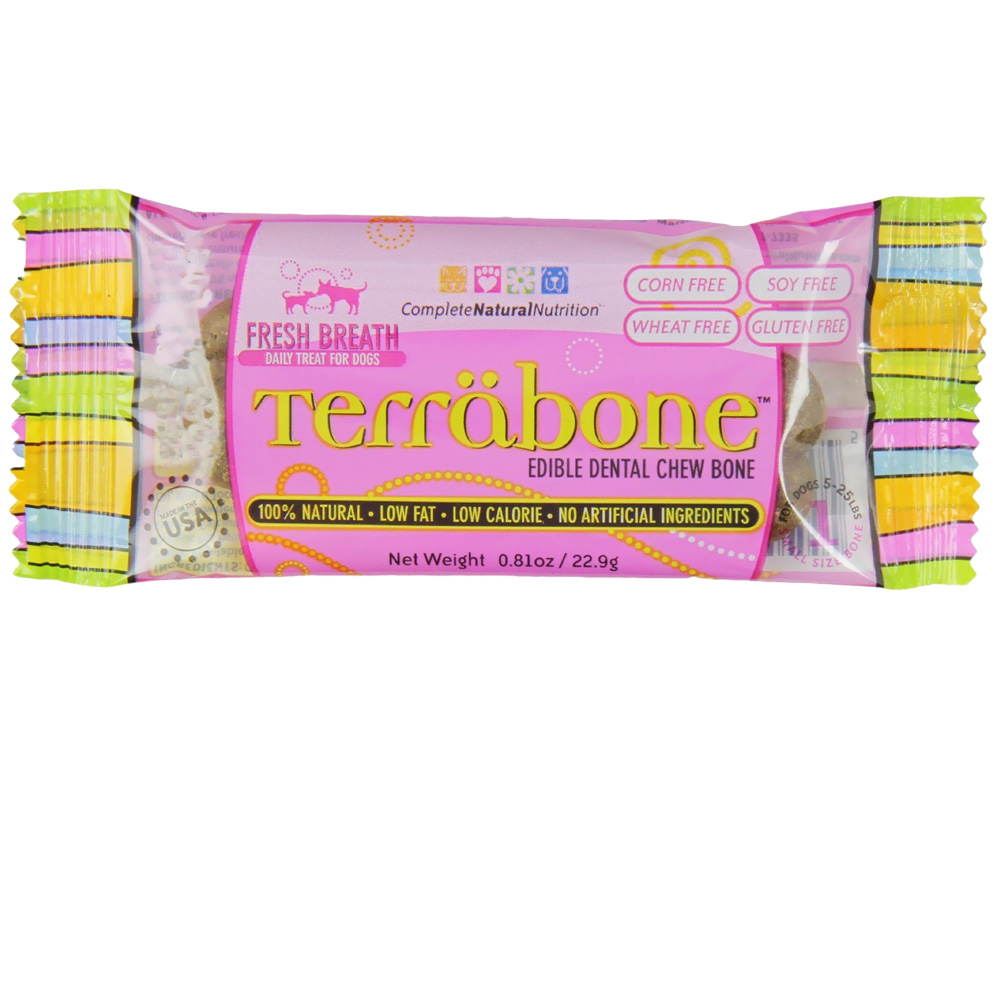 Terrabone Edible Chew Treat for Dogs - Small