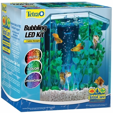 Tetra Bubbling LED Desktop Aquarium