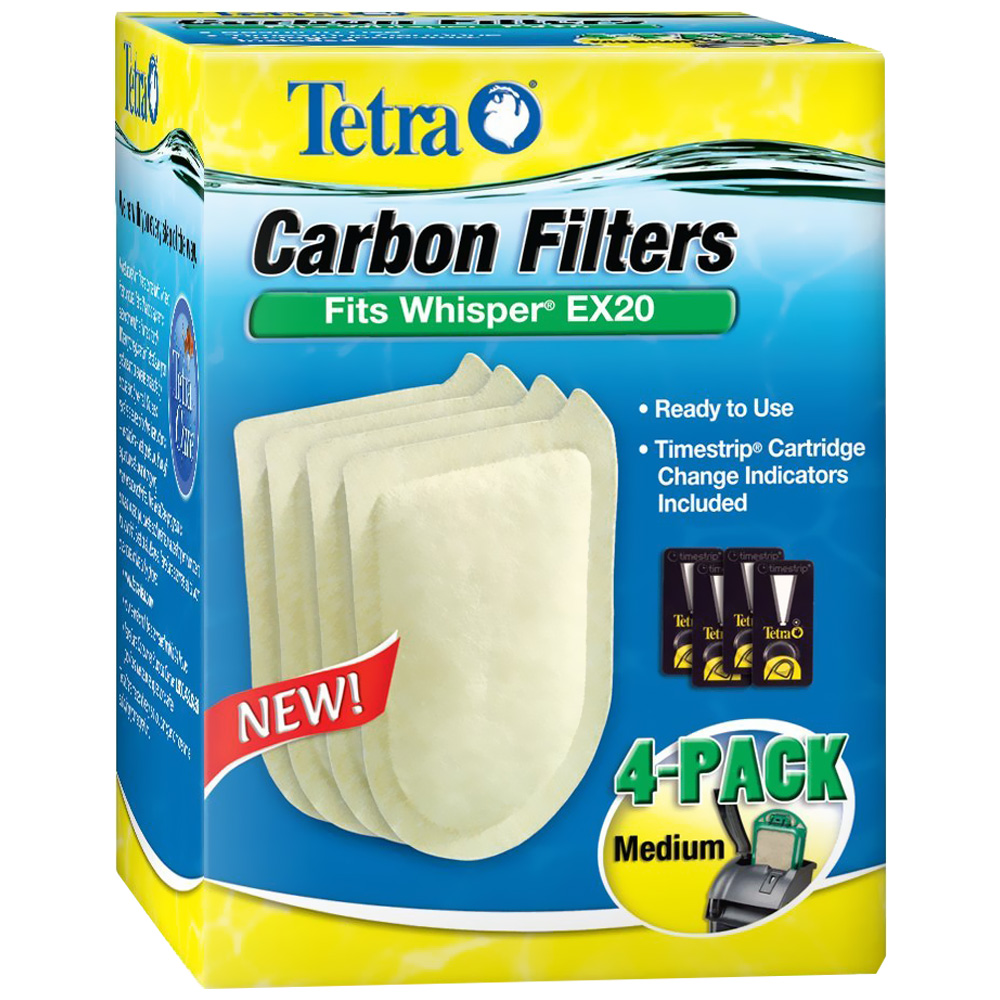 Tetra Carbon Filters Medium (4 pack)
