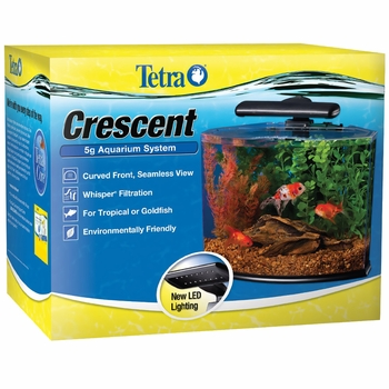 Tetra Crescent 5g Aquarium System Kit (5 Gal)