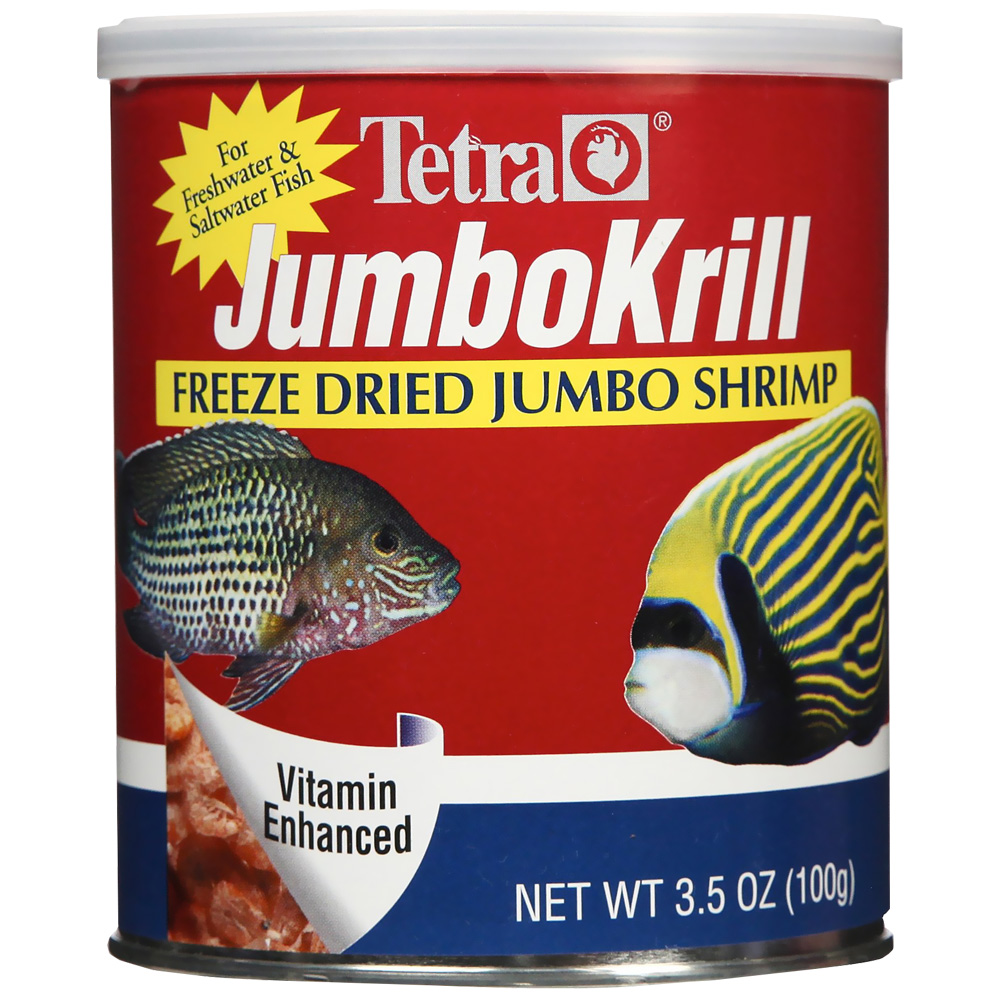 Tetra JumboKrill Freeze Dried Jumbo Shrimp (3.5 oz)