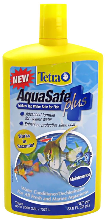 TetraAqua AquaSafe Water Conditioner (33.8 oz)