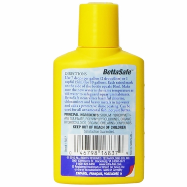 TetraAqua BettaSafe Water Conditioner (1.69 oz)