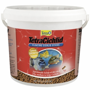 TetraCichlid Cichlid Sticks (6.61 lbs)