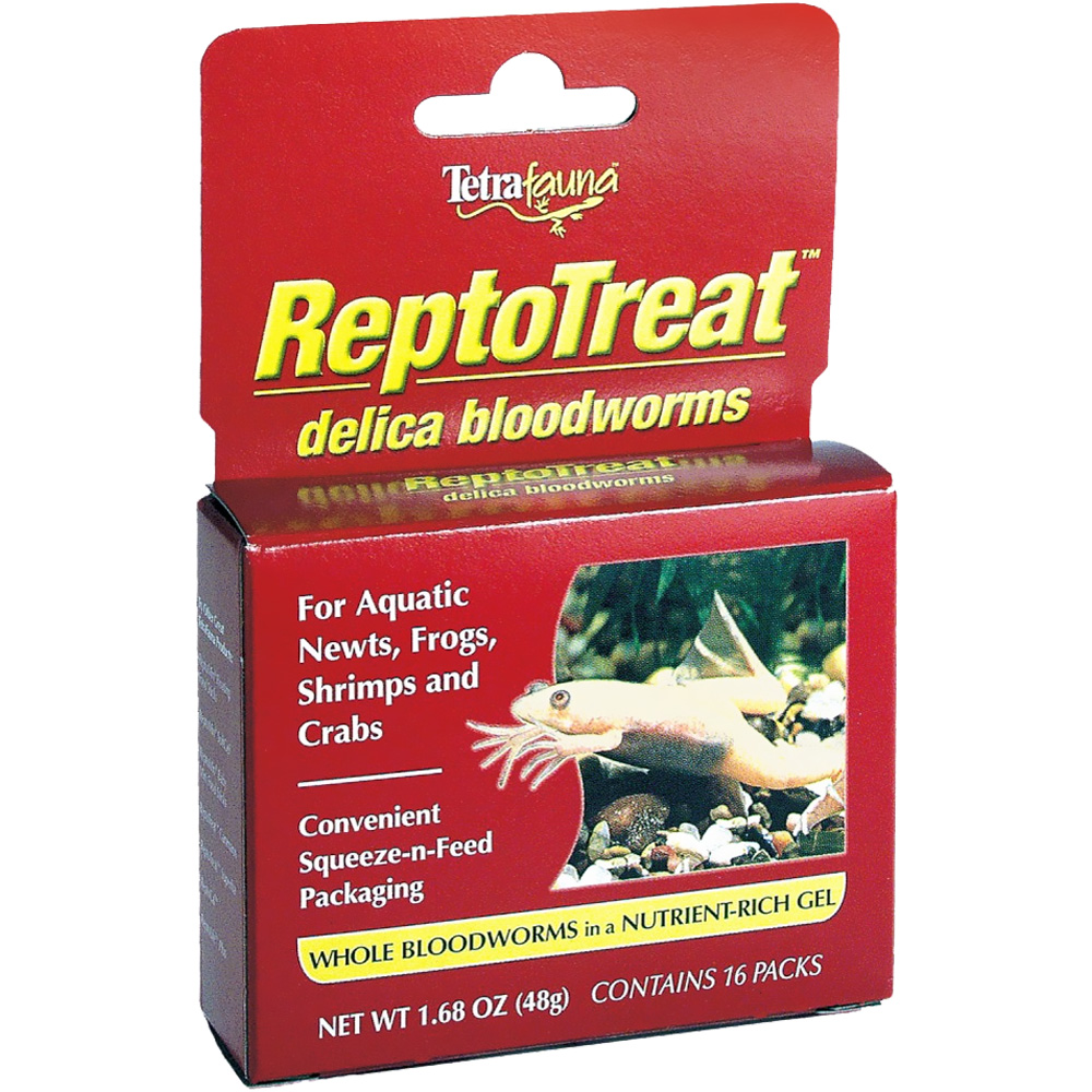 TetraFauna ReptoTreat Delica Bloodworms (1.69 oz)