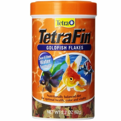 TetraFin Goldfish Flakes (2.2 oz)