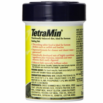 TetraMin Tropical Tablets (1.69 oz)