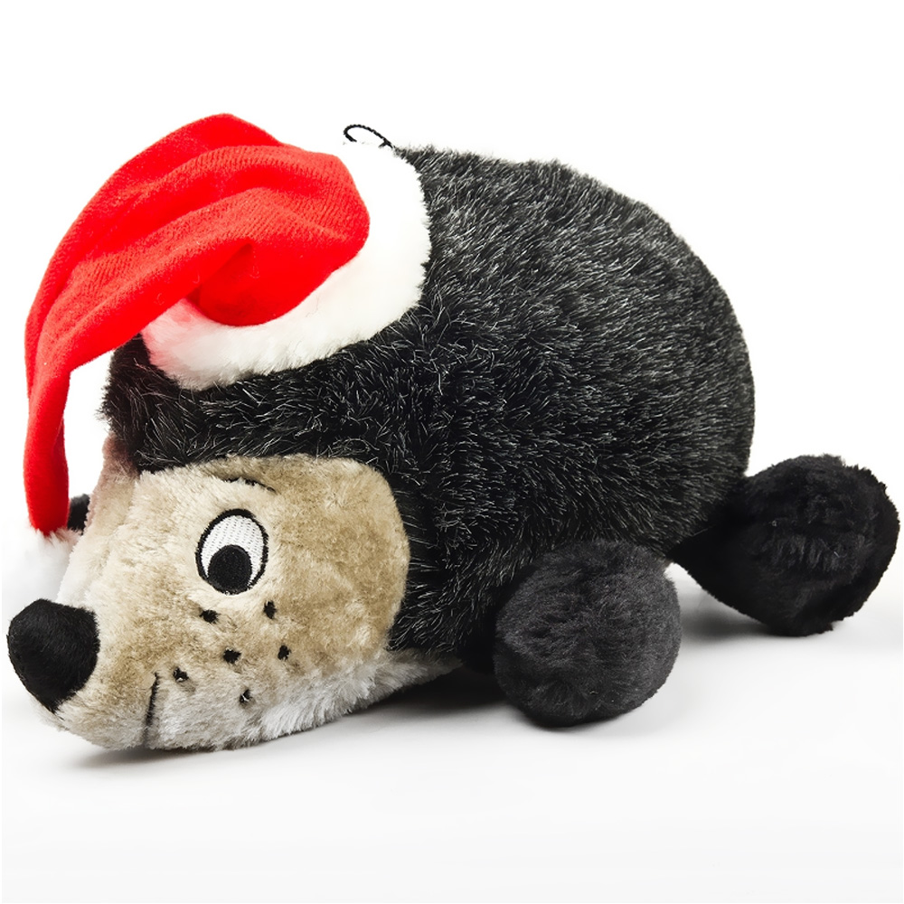 The Hedgehog II with Santa Hat