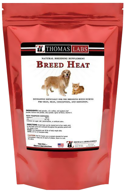 Thomas Labs Breed Heat Powder (16 oz)