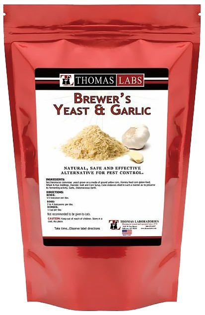 Thomas Labs Brewer's Yeast & Garlic