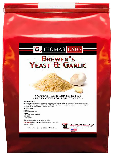 Thomas Labs Brewer's Yeast & Garlic (5 lb powder)