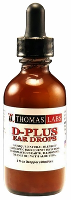 Thomas Labs D-Plus Ear Drops (60 ml)