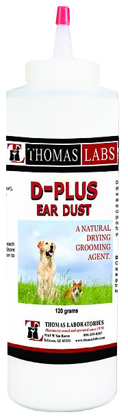 Thomas Labs D-Plus Ear Dust (120 gm)