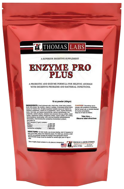 Thomas Labs Enzyme Pro Plus Powder (16 oz)