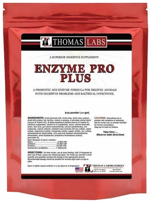 Thomas Labs Enzyme Pro Plus Powder (8 oz)
