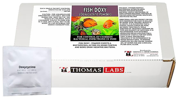 Thomas Labs Fish Doxy 100mg - Doxycycline Powder (30 packets)