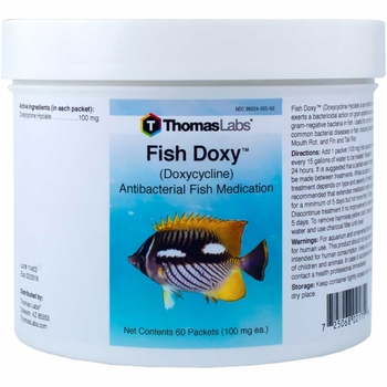 Thomas Labs Fish Doxy 100mg - Doxycycline Powder (60 packets)