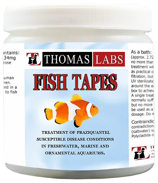 Thomas Labs Fish Tapes 34mg (40 count)