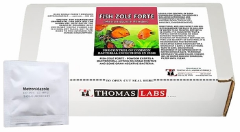 Thomas Labs Fish Zole Forte 500mg - Metronidazole Powder (30 packets)