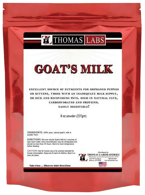 Thomas Labs Goat's Milk Powder (12 oz)