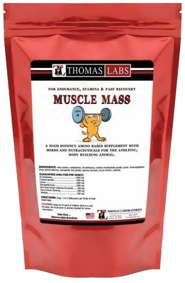 Thomas Labs Muscle Mass Powder (16 oz)