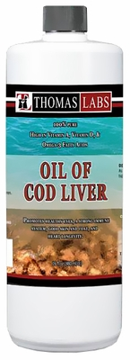 Thomas Labs Oil Of Cod Liver (16 oz)
