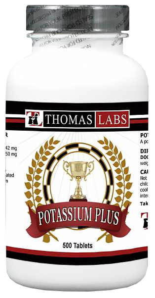Thomas Labs Potassium Plus (500 tablets)