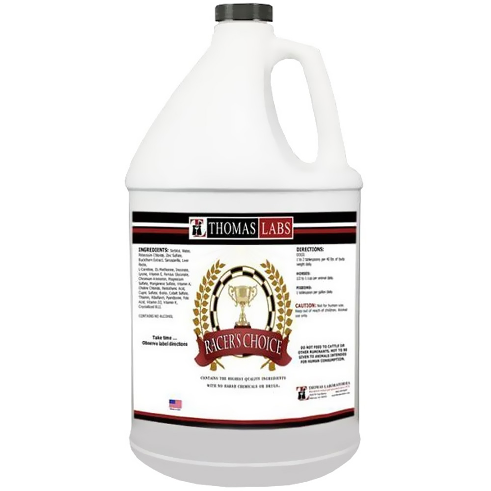 Thomas Labs Racer's Choice (Gallon)
