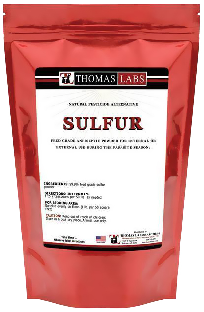 Thomas Labs Sulfur Powder (16 oz)
