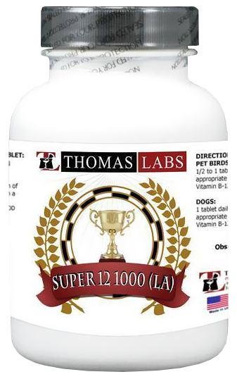 Thomas Labs Super 12 1000 LA (100 count)